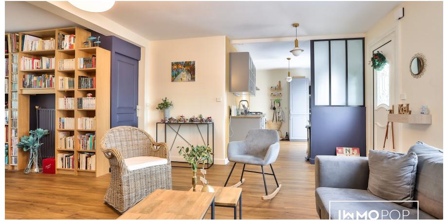 Maison plain pied Type 4 de 117 m²  + grand jardin à Saint-Médard-en-Jalles