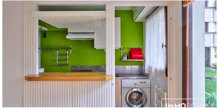Appartement Type 1 meublé de 28 m² + terrasse + cave à Paris 11ème