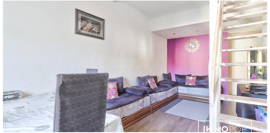 Appartement duplex Type 3 de 65 m² à Nice