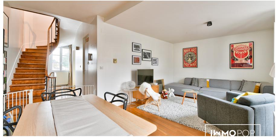 Appartement Type 4 de 80 m² + parking + cave à Groslay