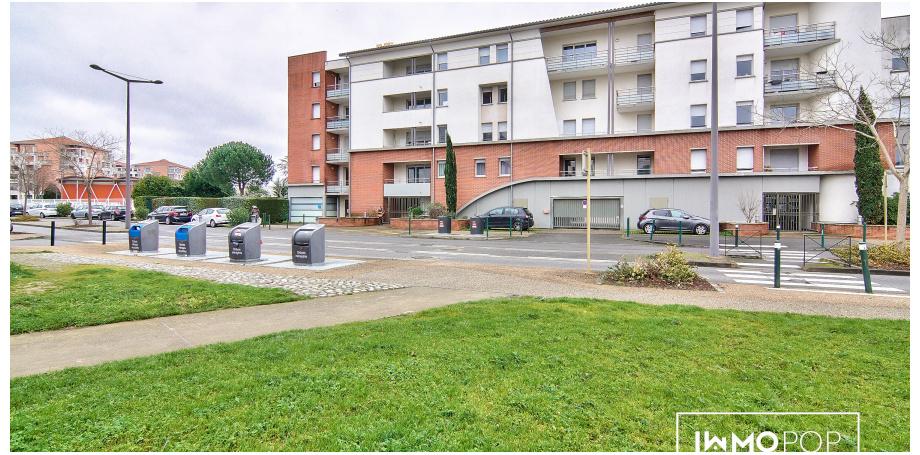 Appartement Type 2 de 44 m² + parking à Colomiers