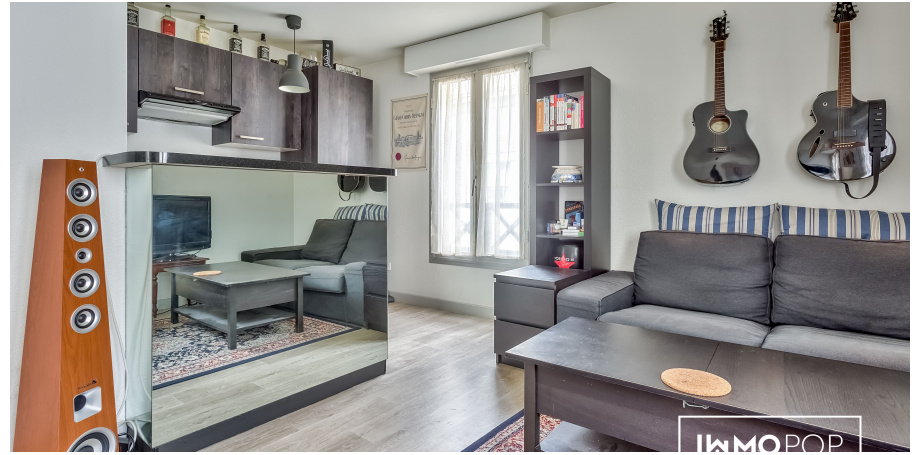 Appartement Type 2 de 44 m² au centre de Bordeaux