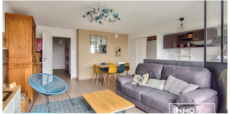 Appartement duplex Type 4 de 88 m² + 2 box + 2 parkings à Tournefeuille