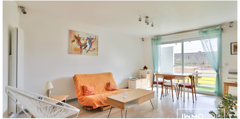 Appartement Type 2 de 50 m² + 2 balcons + parking à Bordeaux