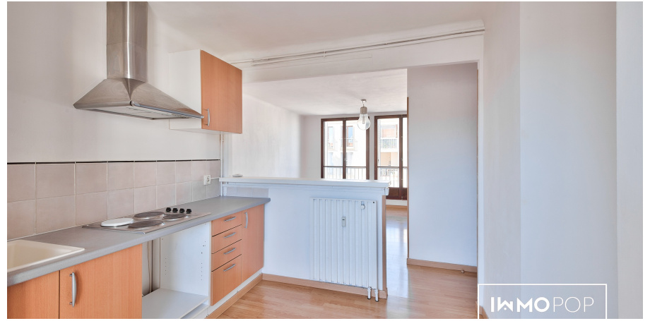 Appartement Type 4 de 69 m² + parking + cave à Aix-en-Provence