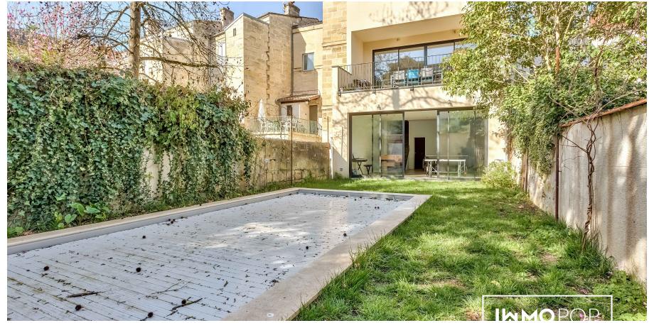 Maison  en pierre Type 9 de 270 m² + piscine  + cave à Bordeaux Centre