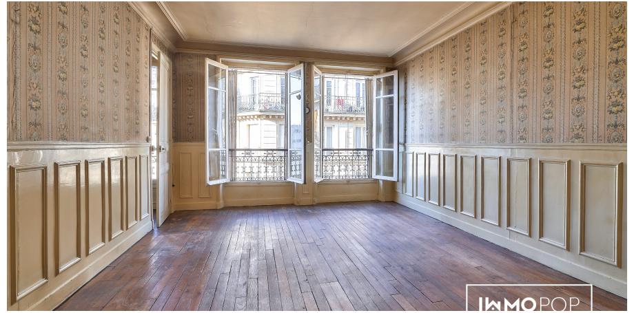 Appartement Type 3 de 75 m² + cave à Paris 18 ème