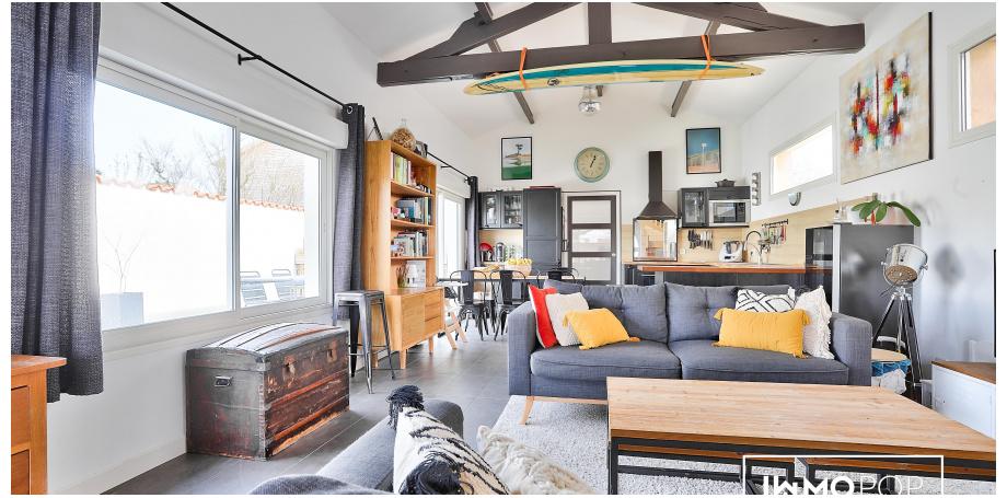 Maison Type 5 de 105 m² + parking à Pessac