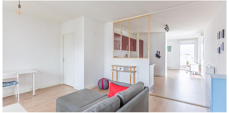 Appartement Type 4 de 96 m² + box à Bordeaux