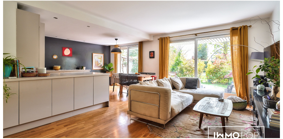 Appartement Type 4 de 84 m² + 2 parkings + cave à La Garenne-Colombes