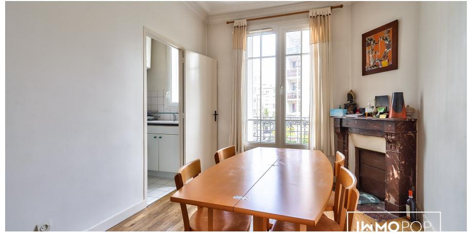 Appartement Type 3 de 43 m² + cave à Bois-Colombes