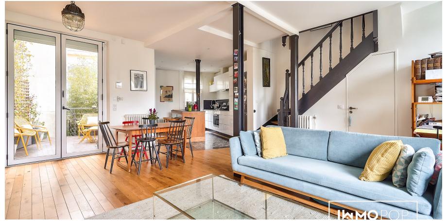 Maison Type 5 de 150 m² + garage à La Garenne-Colombes