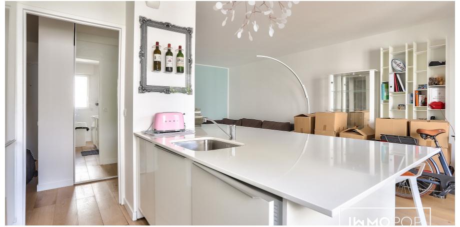 Appartement Type 2 de 52 m² + parking + cave à Bordeaux