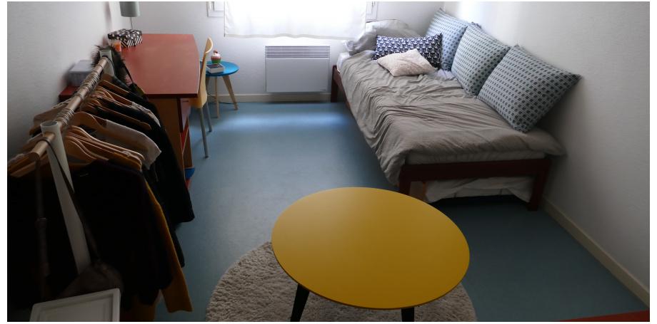 Appartement de 19 m² dans résidence étudiants à Bordeaux