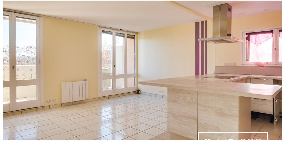 Appartement de Type 4 de 85 m² + garage  + c ave à Blagnac