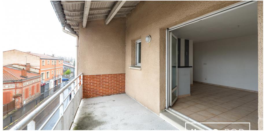 Appartement de Type 2 de 40 m² à Toulouse