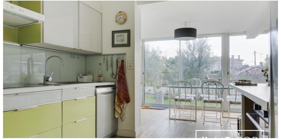 Maison plain pied Type 7 de 162 m² à Bordeaux