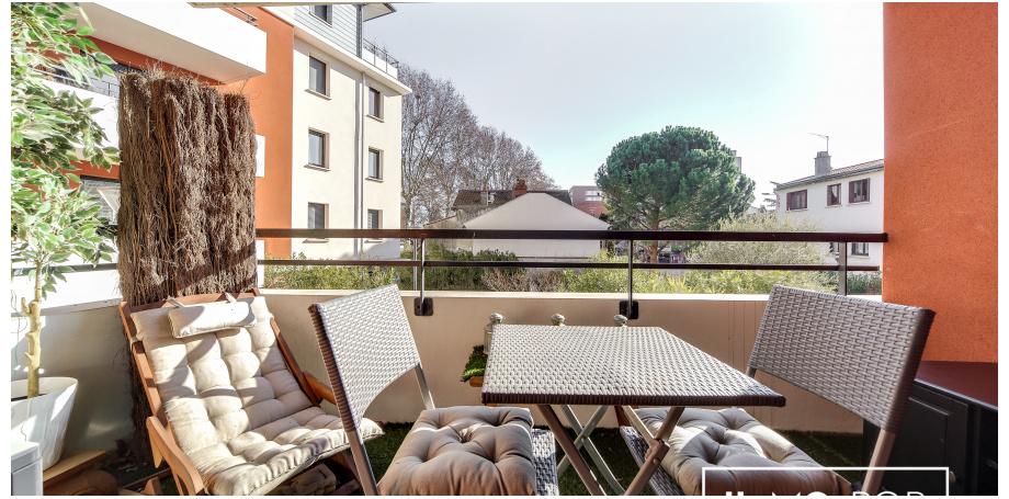 Appartement type 2 de 46 m² à Toulouse centre