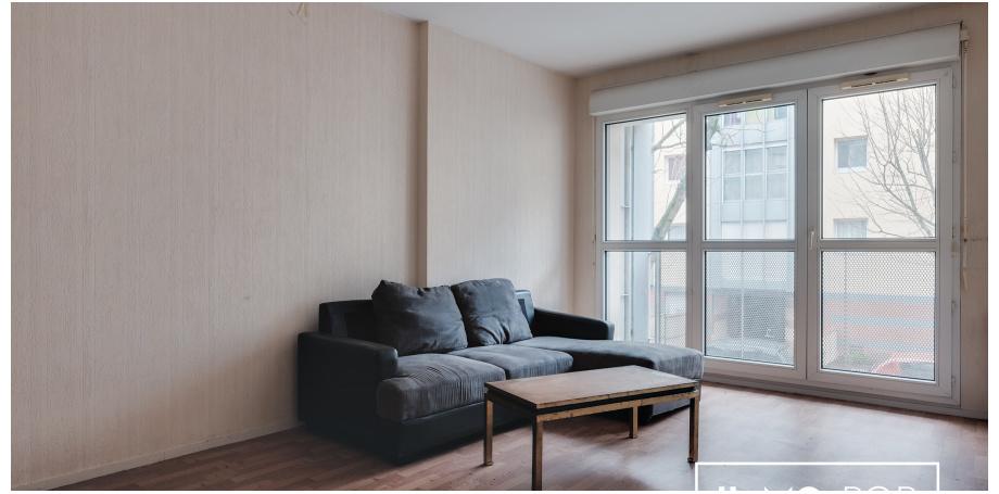Appartement type T1 bis de 30 m² à Toulouse