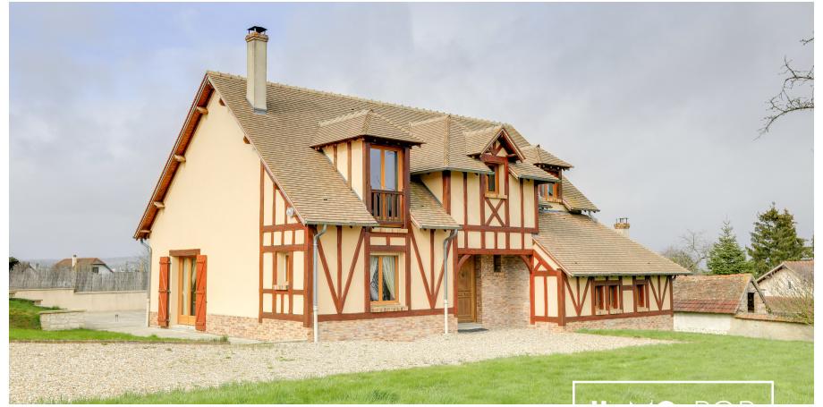 Maison d'architecte type 7 de 175 m² à Saint-Pierre-la -Garenne