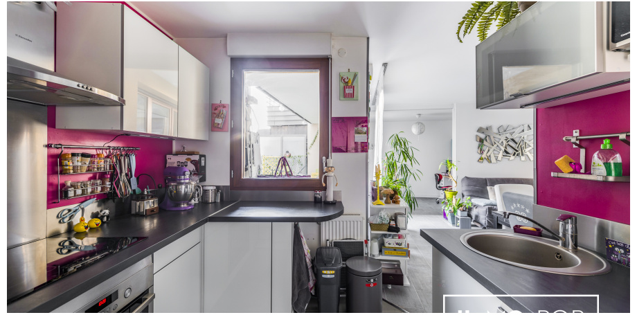 Appartement Type 3 de 68 m² + jardin à Neuilly-sur-Marne