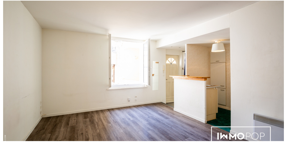 Appartement Type 2 de 37 m² + chai à Bordeaux