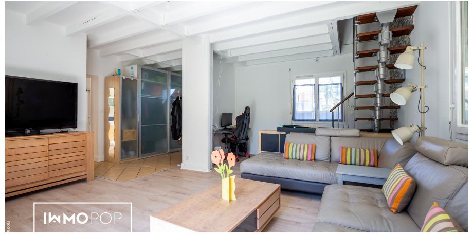 Maison Type 6 de 124 m² + garage à Bègles