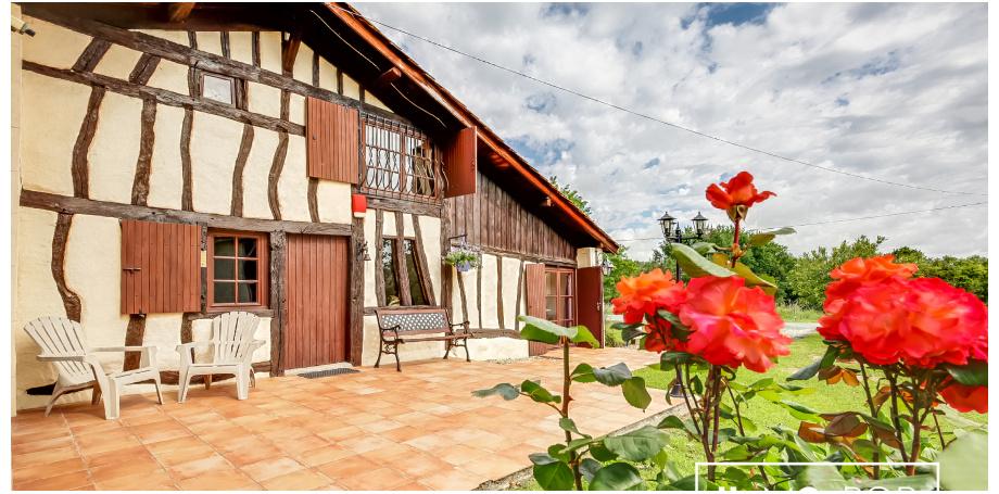 Maison landaise Type 6 de 200 m² + piscine + garage à Cauvignac