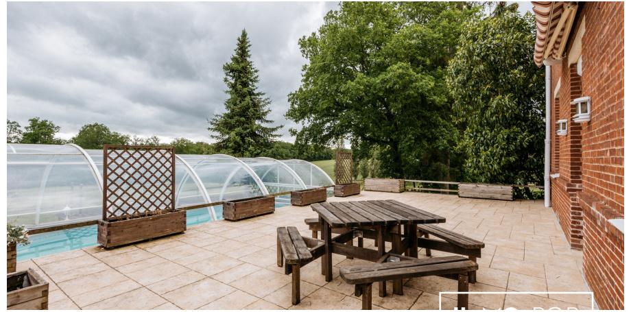 Maison Type7 de 198 m² + piscine + écuries à Villechétive