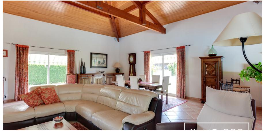 Maison contemporaine plain pied Type 4 de 154 m² + piscine + garage à Biscarrosse