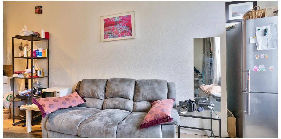 Appartement Type T1 bis de 35 m² au coeur de Bordeaux