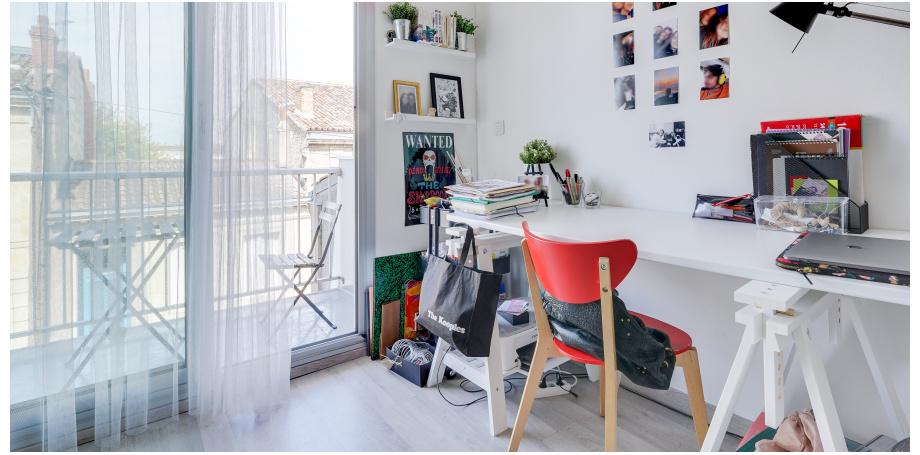 Studio de 23 m² meublé au coeur de Bordeaux