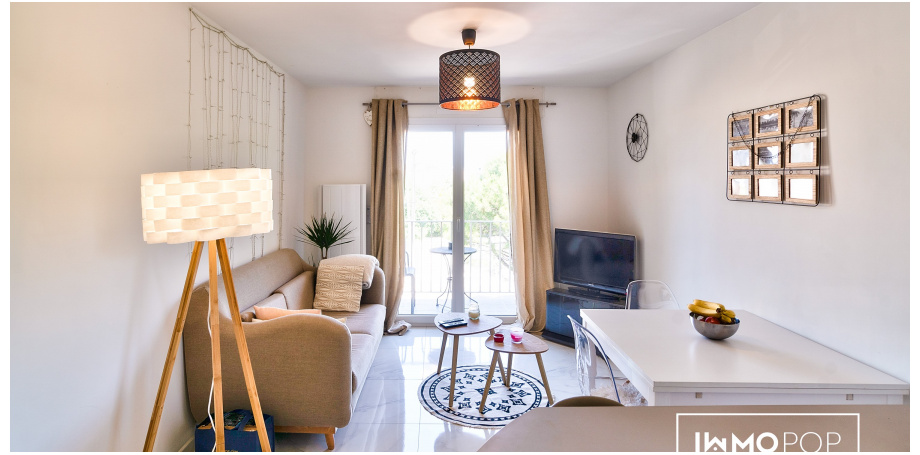 Appartement Type 2 de 36 m² à Montpellier