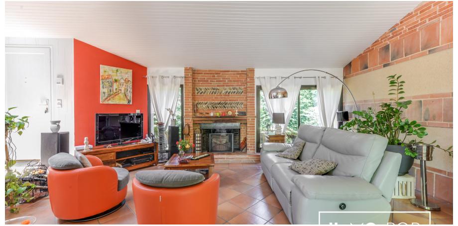 Maison  plain pied Type 4 de 115 m² + piscine  + garage à St Lys