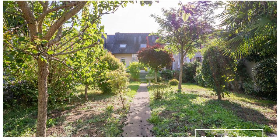 Maison de 180m² + jardin de 435m2, Rennes Thabor Sévigné