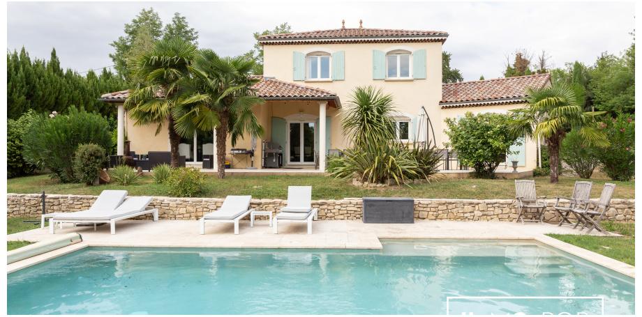 Maison Type 6 de 180 m² + piscine + garage à Allex