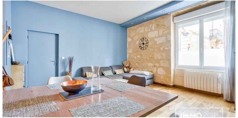 Appartement Type 3 de 69 m² à Bordeaux
