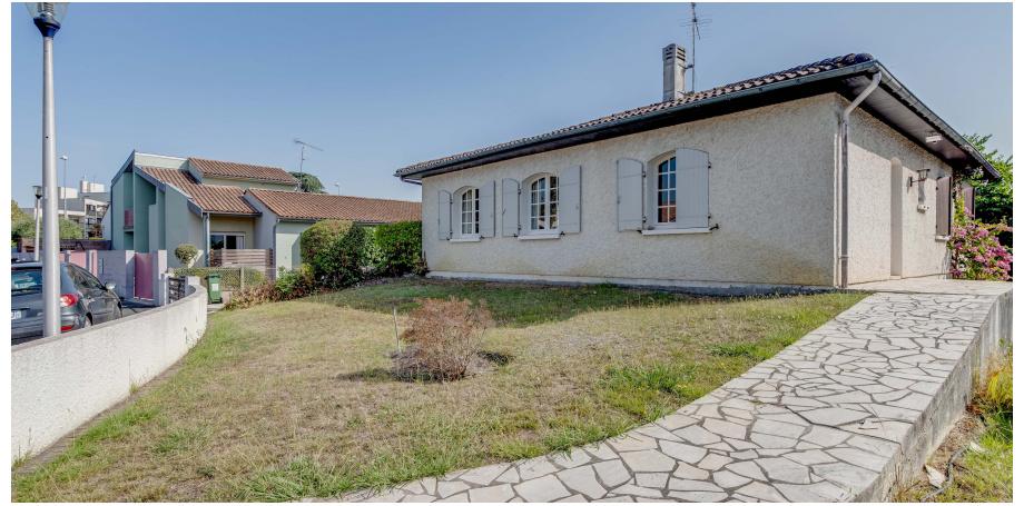 Maison  plain piedType 4 de 96 m² + garage à Talence
