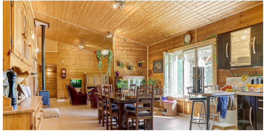 Maison plain pied Type 5 de 130 m² + garage + atelier 72m² à Saint Victor Rouzaud