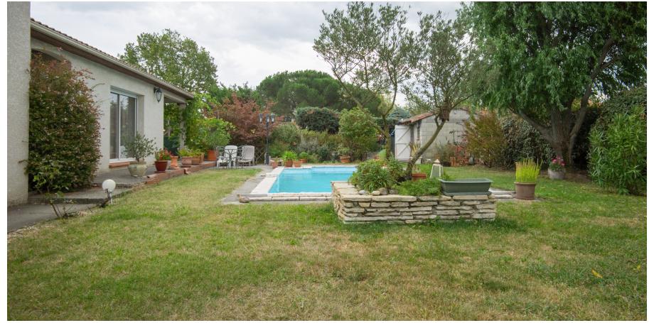 Maison Type 4 de 114 m² + piscine + garage à Muret
