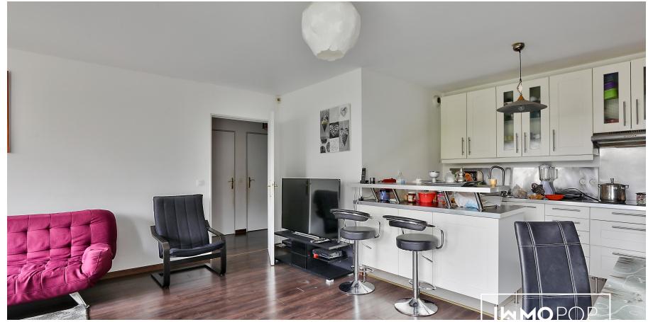 Appartement Type 3 de 60 m² + jardin + cave à Vitry-sur-Seine
