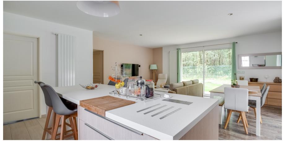 Maison plain pied Type 4 de 94 m² + garage - Le Teich