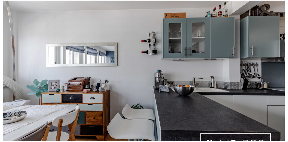 Appartement Type 3 de 63 m² + cave à Paris
