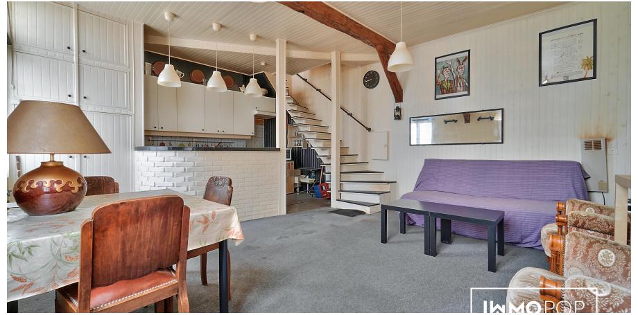 Appartement  duplex Type 3 de 62 m² + cave à Paris 11 ème