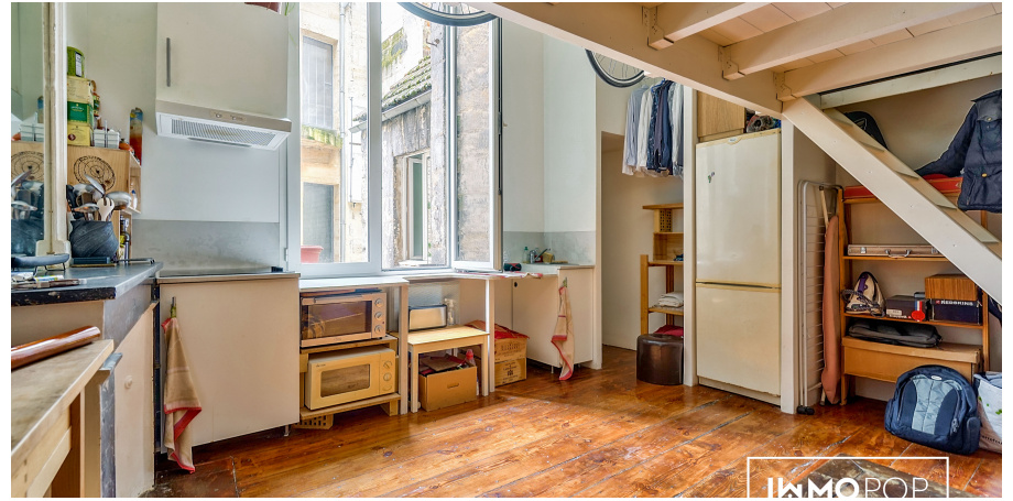 Appartement Type 1 de 30 1 m² à Bordeaux centre
