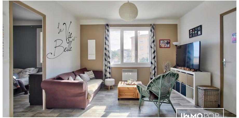 Appartement Type 3 de 53 m² + cave - La Seyne/Mer
