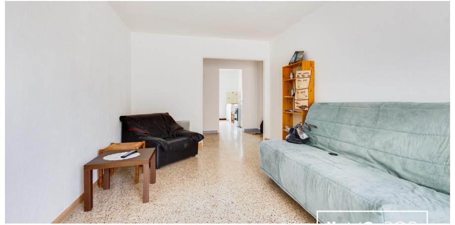 Appartement Type 3 de 58 m² + cave + parking à Six Fours les Plages