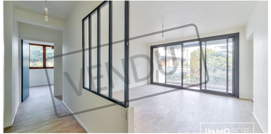 Appartement Type 3 de 72 m² à Marseille