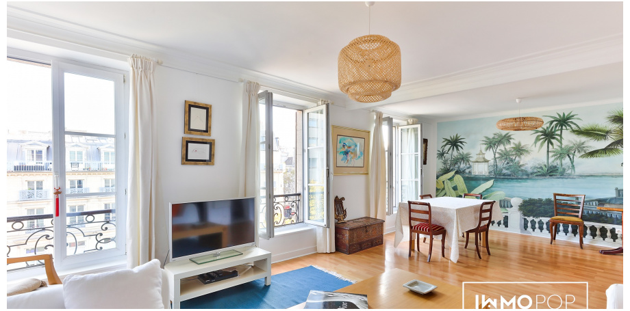 Appartement Type 2 de 65 m² + cave à Paris