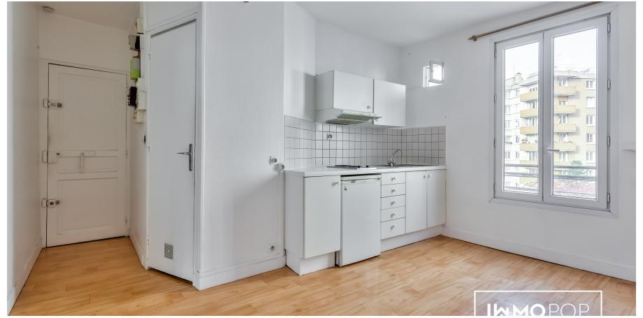Appartement Type 2 de 30 m² à Paris  10 ème